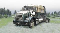 Kenworth T800 4-axes pour Spin Tires
