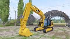 Caterpillar 329E v1.2 für Farming Simulator 2017
