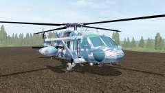 Sikorsky UH-60L Black Hawk winter camo für Farming Simulator 2017