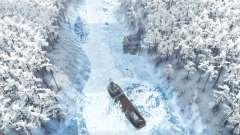 L'hiver dans la forêt pour Spin Tires