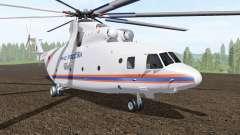 Mi-26T des Ministeriums für Notfälle von Russland für Farming Simulator 2017