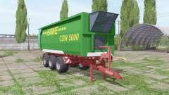 Hawe CSW 5000 pour Farming Simulator 2017