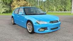 Hirochi Sunburst hatchback v1.12 für BeamNG Drive