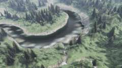 Des ruisseaux de montagne pour Spin Tires