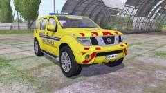 Nissan Pathfinder (R51) 2004 SAMU pour Farming Simulator 2017