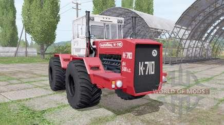 Kirovec K 710 v1.4 pour Farming Simulator 2017