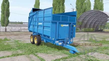 Harry West 10t silage v1.1.1 pour Farming Simulator 2017