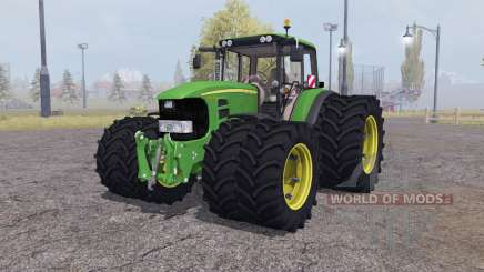 John Deere 7530 Premium twin wheels für Farming Simulator 2013