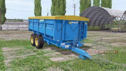 Harry West 10t grain v1.1.1 pour Farming Simulator 2017