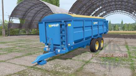 Harry West 12t grain v1.1.1 pour Farming Simulator 2017