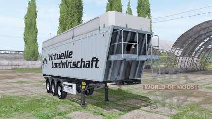 MENCI SA 850 R Virtuelle Landwirtschaft v2.0 für Farming Simulator 2017