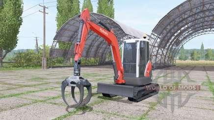Kubota KX71-3 v2.0 für Farming Simulator 2017