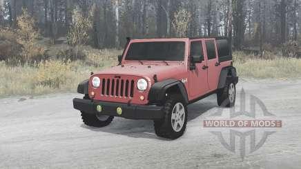 Jeep Wrangler Unlimited Rubicon (JK) 2006 pour MudRunner