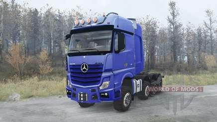 Mercedes-Benz Actros 4163 SLT (MP4) 8x8 pour MudRunner