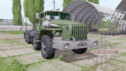 Ural-6614 ist ein loader für Farming Simulator 2017