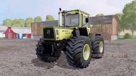Mercedes-Benz Trac 1600 Turbo front loader pour Farming Simulator 2015