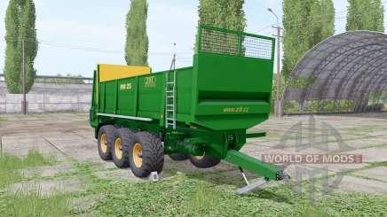 ZDT RM 25 pour Farming Simulator 2017