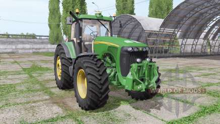 John Deere 8520 v3.0 für Farming Simulator 2017