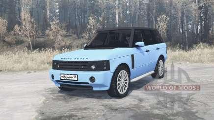 Land Rover Range Rover Sport (L320) Pontorezka pour MudRunner