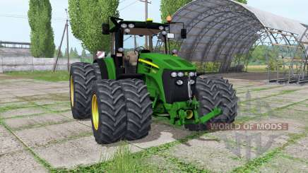 John Deere 7930 twin wheels Trelleborg pour Farming Simulator 2017