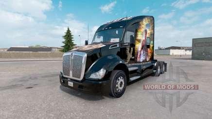 La peau de Sleeping Dogs sur le camion Kenworth T680 pour American Truck Simulator