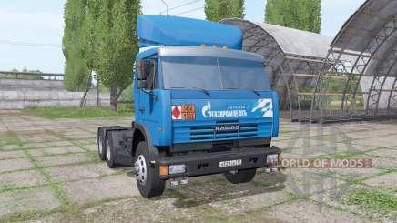 KAMAZ 54115 Gazprom Neft v1.3 pour Farming Simulator 2017