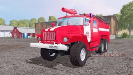 Ural 5557 ATS-5.5-40 für Farming Simulator 2015