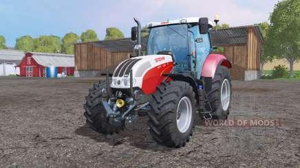 Steyr 6130 CVT EcoTech pour Farming Simulator 2015