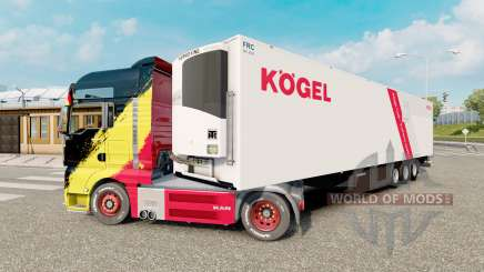 Trailer Kogel Cool pour Euro Truck Simulator 2