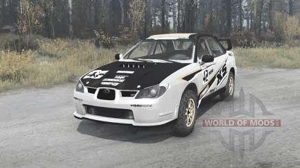 Subaru Impreza WRX STi (GDB) 2007 Rally pour MudRunner