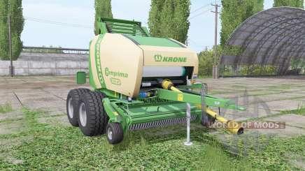 Krone Comprima F155 XC v1.1 pour Farming Simulator 2017