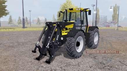 JCB Fastrac 2150 front loader v1.1 pour Farming Simulator 2013