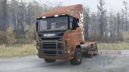 Scania R730 für MudRunner