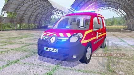 Renault Kangoo Extrem 2013 Sapeurs-Pompiers v1.1 für Farming Simulator 2017