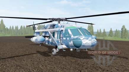 Sikorsky UH-60L Black Hawk winter camo für Farming Simulator 2017