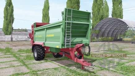 Strautmann MS 1201 v2.2 pour Farming Simulator 2017