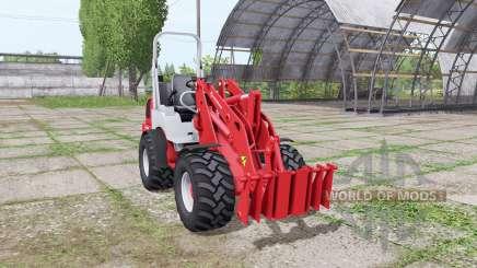 Weidemann 1770 CX 50 v1.1 pour Farming Simulator 2017