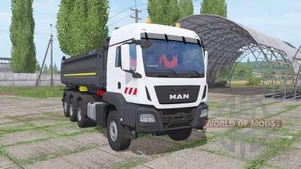MAN TGS 35.500 8x8 BL Meiller 2016 pour Farming Simulator 2017