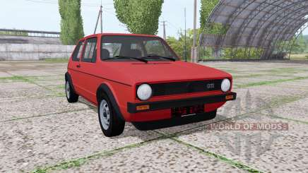 Volkswagen Golf GTI (Typ 17) 1976 v1.1 pour Farming Simulator 2017