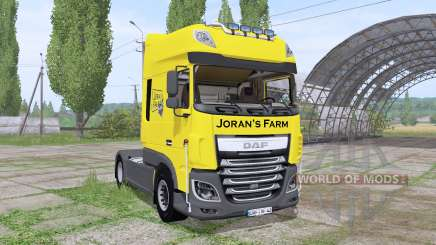DAF XF 510 FT Super Space Cab 2013 pour Farming Simulator 2017