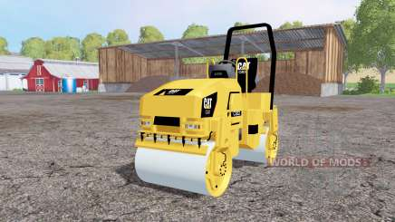 Caterpillar CB32 pour Farming Simulator 2015