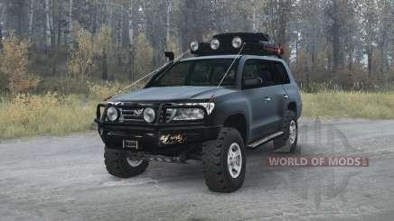 Toyota Land Cruiser 200 (UZJ200) 2008 v1.2 pour MudRunner