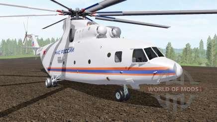Mi-26T du Ministère des situations d'urgence de Russie pour Farming Simulator 2017