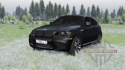 BMW X6 M (E71) pour Spin Tires