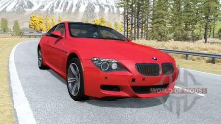 BMW M6 Coupe (E63) 2010 pour BeamNG Drive