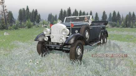 Mercedes-Benz G4 (W31) 1938 pour Spin Tires