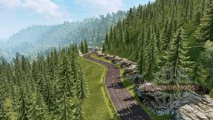 Les paysages de l'Amérique du Sud v2.1 pour Euro Truck Simulator 2
