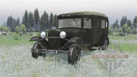 GAZ 55 1938 Sanitaires v1.4 pour Spin Tires