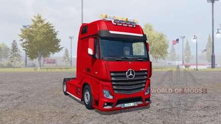 Mercedes-Benz Actros (MP4) für Farming Simulator 2013