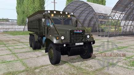 KrAZ 255B v1.2.1 für Farming Simulator 2017